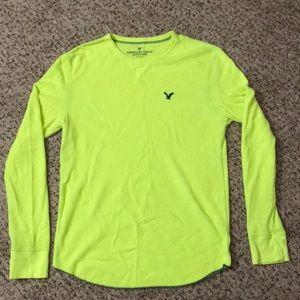 American eagle thermal shirt medium